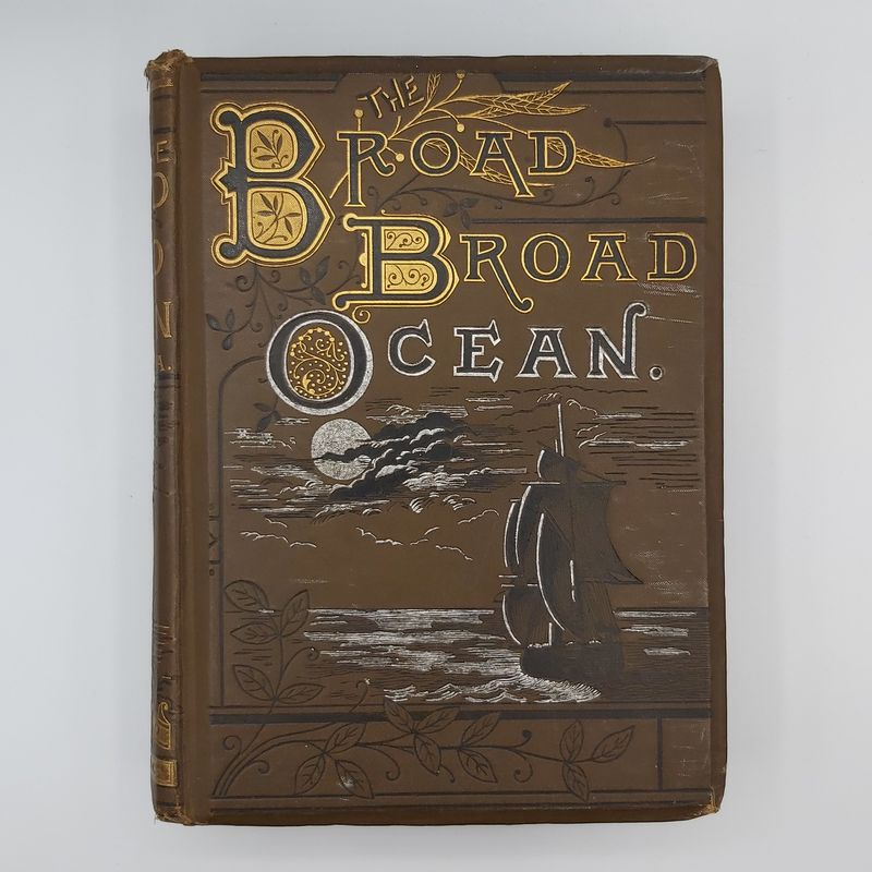 Broad Broad Ocean - Vintage Book Cover (2)