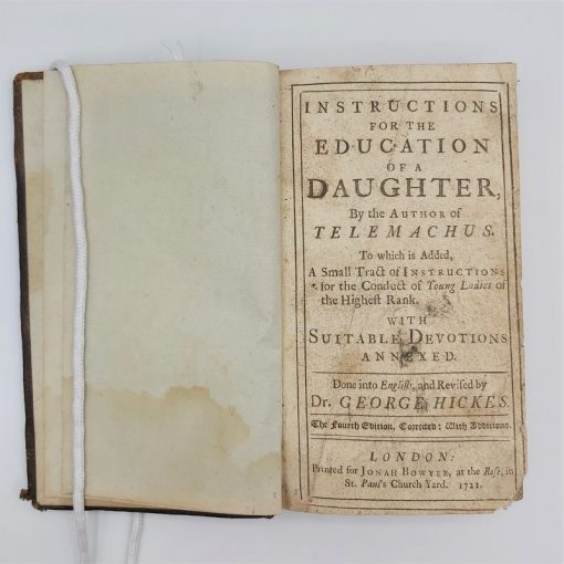 Instructions for Daughter