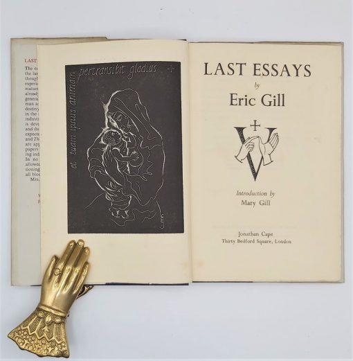 Last Essays-Eric Gill 02