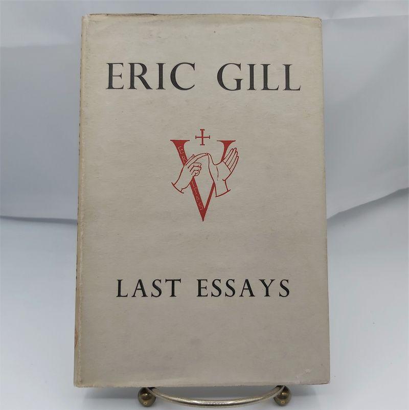 Last Essays-Eric Gill