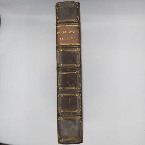 Parkhurst Lexicon (4)