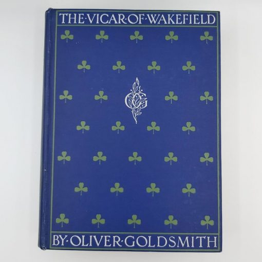 Vicar of Wakefield - Goldsmith Vintage Cover (2)
