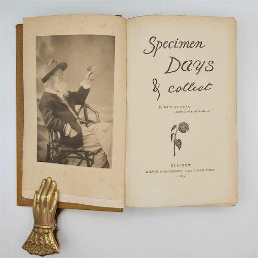 Specimen,Days - Whitman (1)