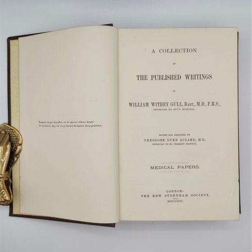 Writings of W W Gull (1)