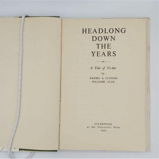 Headlong down the Years (5)