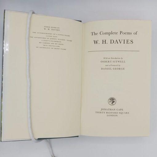 Poems of W.H. Davies (1)